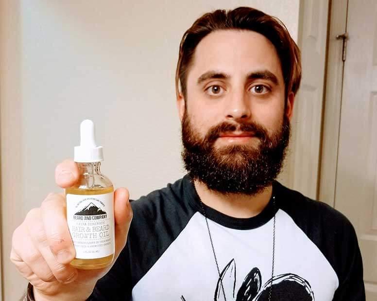 beard growth oil extra strength