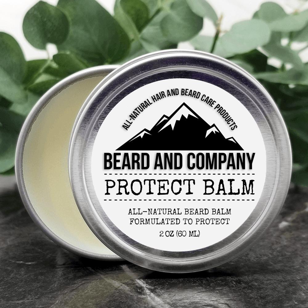 beard balm with protection formula