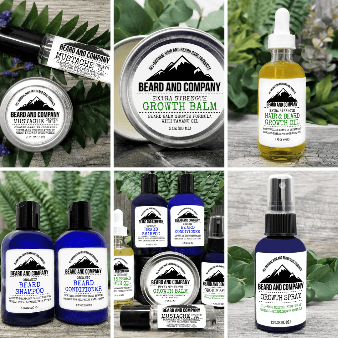 all-natural beard growth products
