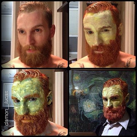 1. Vincent Van Gogh  sc 1 st  Beard and Company & More Halloween Costume Ideas for Guys with Beards - Beard and ...