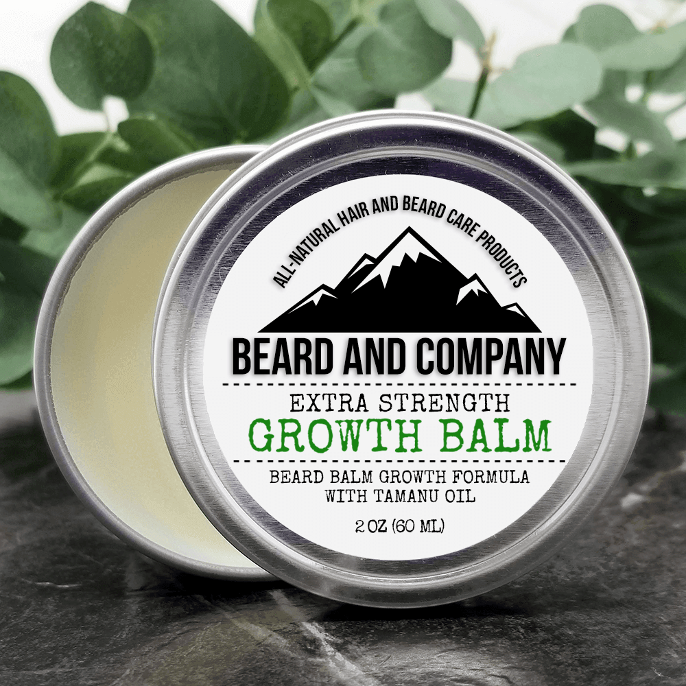 beard growth balm extra strength