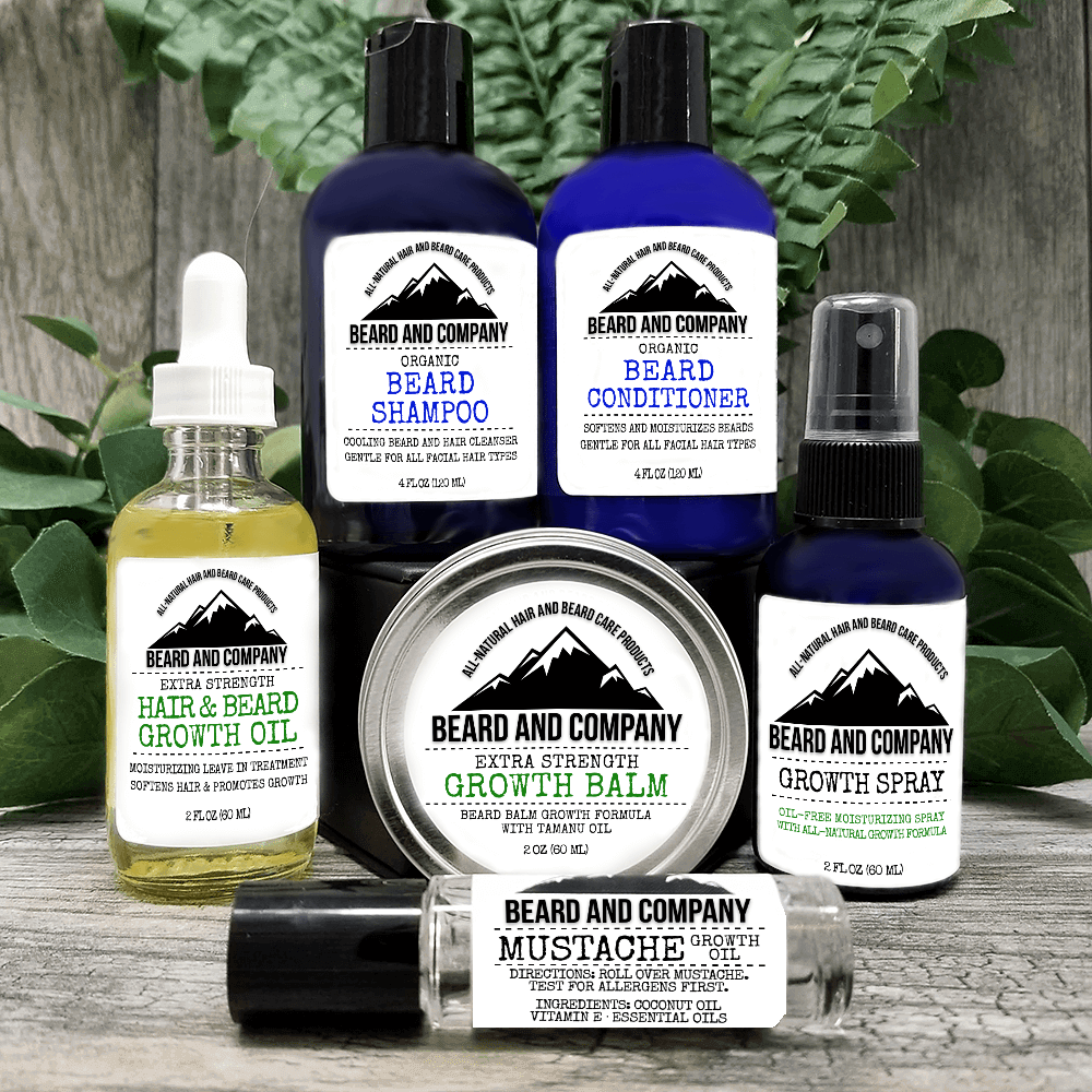 extra strength beard growth kit