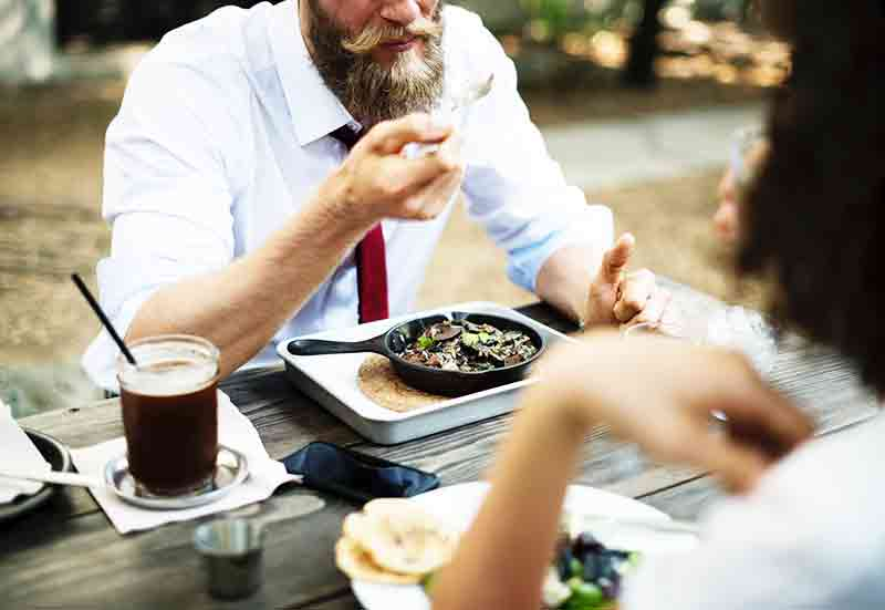 foods that grow beards